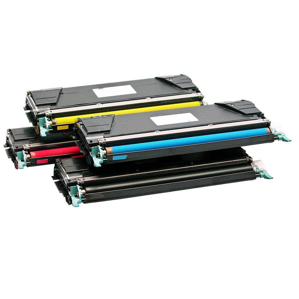 Compatible Lexmark Laser Toner Cartridges YELLOW C520 C522 C524 C530 C532 C534
