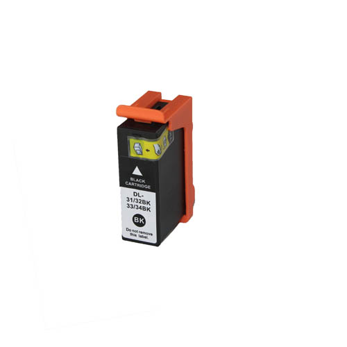 1 Black Ink Cartridge for Dell 31 Inkjet V525w V725w