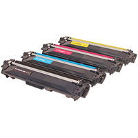compatibile set 4x Toner per Brother TN242 TN246 HL3142CW di ABC