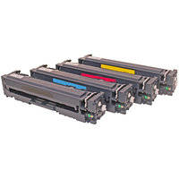 compatibile set 4x Toner per HP 201X M252 M277 di ABC