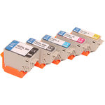 Compatible Set 5x printer cartridge For Epson 202XL XP6000 XP6005 by ABC