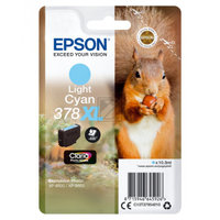 EPSON 378XL Light Cyan Ink Cartridge (With Security)