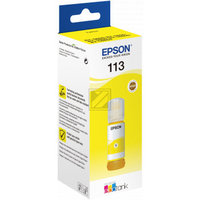 EPSON 113 EcoTank Pigment Yellow ink bottle
