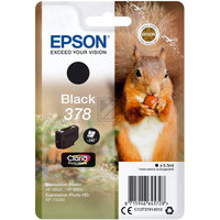 EPSON 378 Black Ink Cartridge (with security)